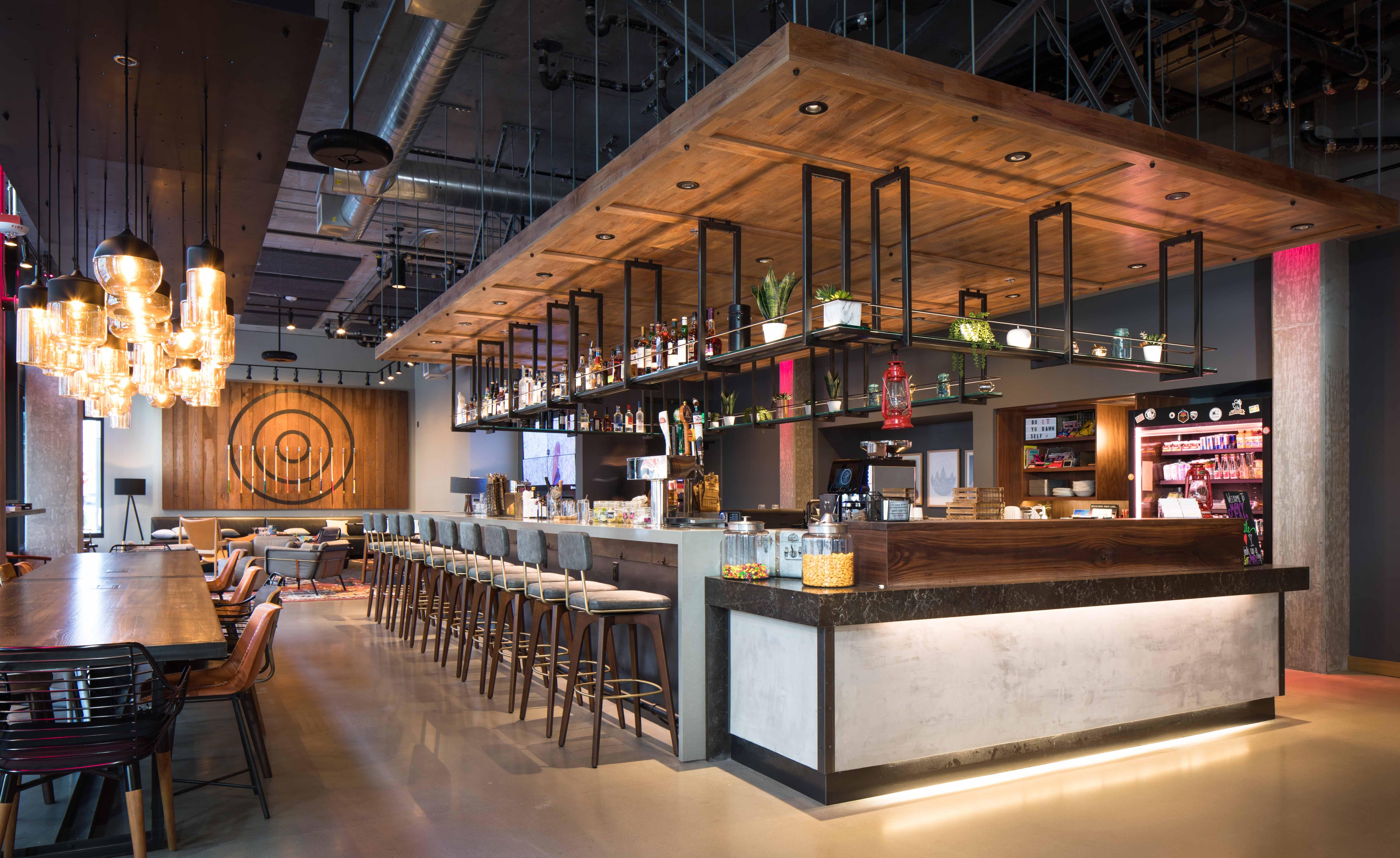 Moxy Seattle Lobby
